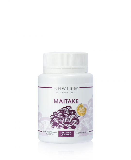 MAITAKE | МАЙТАКЕ | 60 КАПСУЛ В БАНОЧКЕ